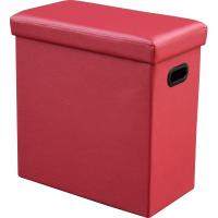 Agva Foldable Storage Ottoman Tall (Red) XYFD