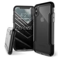 X-Doria iPhone X Defense Clear Case (Black)