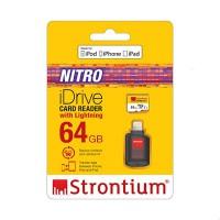 Strontium iDrive Card Reader With Lightning (64GB)