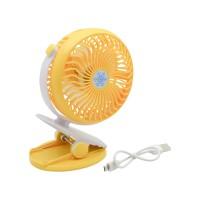 PLG Clip Fan (Yellow)