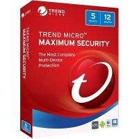 Trend Micro Maximum Security 2017 (1Y5U)