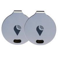 TrackR Bravo Dual Unit GPS Tracker (Silver)