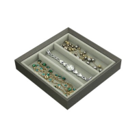 Agva Square Jewellery Tray with 3 Compartments