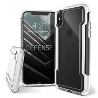 X-Doria iPhone X Defense Clear Case (White)