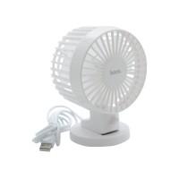 Hoco F5 Desktop Fan (White)