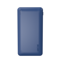 Michi Qualcomm 12000mAh 3.0 Slim Powerbank (Navy)