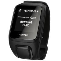 TomTom Spark Cardio + Music GPS Fitness Watch (Black - Size L)