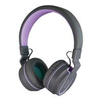 SonicGear AirPhone V Bluetooth Headphones (Grey/Purple)
