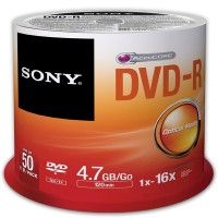 Sony DVD-R Spindle Pack (50 pcs)