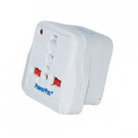 PowerPac PT11 Travel Adaptor - 2 Round