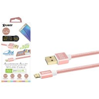 XPower XP-AA3G1_2RG 1.2m Double Reversible Micro (Rose Gold)