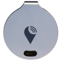 TrackR Bravo Bluetooth Tracking Device - Key Tracker, Phone Finder, Wallet Locator (Silver)