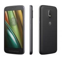 Motorola E3 Power LTE-DS  (16GB - Black)