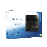 Sony PS4 1TB Edition (Black)