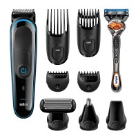 Braun multi grooming kit MGK3080 – 9-in-one trimmer for precision styling from head to toe.