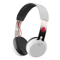 Skullcandy Grind Bluetooth Headphones (White) (S5GBW-J472)