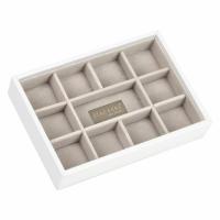 Agva JB70805 11 Section Mini Stacker (White)