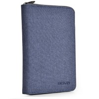 Agva LTB328 RFID Passport Holder (Blue)