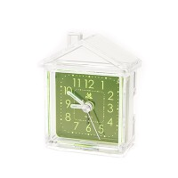 PRS C01 Transparent Clock (Green)