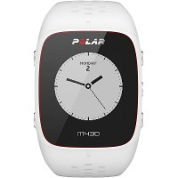 Polar M430 GPS Running Watch With Wrist-based Heart Rate (White)