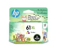 HP 61XL High Yield Tri-color Original Ink Cartridge  (1VV33A)