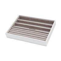 Agva JB80402 4 Section Medium Stacker (White)