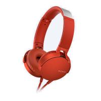 Sony MDR-XB550AP Headphones + Mic (Red)