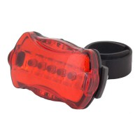 PLG 1-TR-08-1 LED Bicycle Taillight (Red)