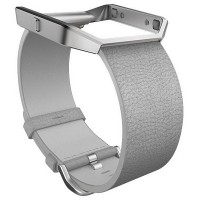 fitbit blaze LUXE Accessory Band (Mist Grey) Size S
