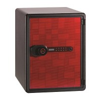 Lusafe Safe Box (NPS-031D) (Black Red)
