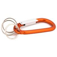 PRS JSH Climbing Button Carabiner (Orange)