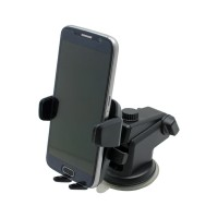 PRS SH-09 Smartphone Holder For Car (Black)