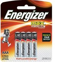 Energizer E92BP4 AAA Alkaline Max (4 pcs)