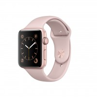 Apple Watch Series 2 42mm Rose Gold Aluminium Case with Pink Sand Sport Band