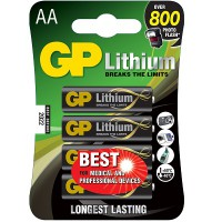 GP Batteries Lithium AA GPPCL15LF005 (4pcs)