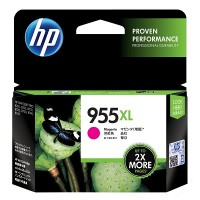 HP 955XL High Yield Magenta Original Ink Cartridge (L0S66AA)