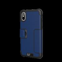 UAG iPhone X Metropolis Case (Cobalt)