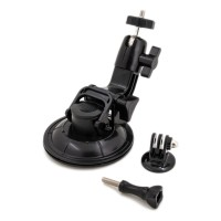 PRS GP70 9CM Diameter Suction Cup for GoPro Camera (Black)