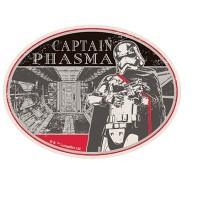 Star Wars Travel Sticker 6 Captain Phasma