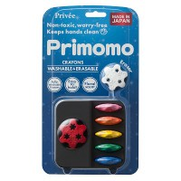 Primomo Flower Crayons (6 Colours)