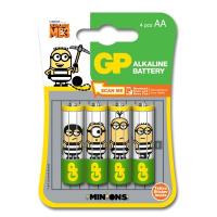 GP  Minions Ultra Alkaline 4xAA (GPPCA15AU498)