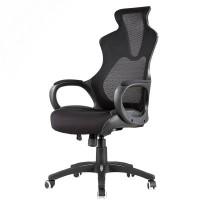 Inkagu J21-M101 Black Frame with Black Mesh Gaming Chair (Nylon)