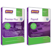 [Bundle] MYOB Premier Plus Version 19 3 User w Payroll