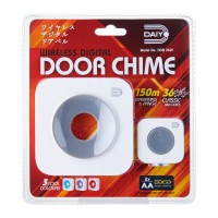 Daiyo DDB 26WGY Wireless Retro Door Chime Battery (Grey)