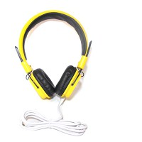 PRS P-HS05 Headset with Mic (Yellow)