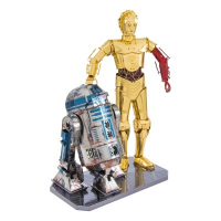 Metal Earth Star Wars R2D2 & C-3PO Deluxe Set [MMG276]