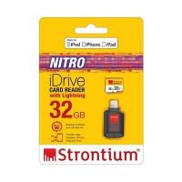 Strontium iDrive Card Reader With Lightning (32GB)