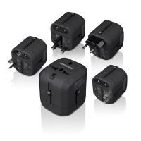 Lifetrons High Power Mini Travel Adapter (FG-2101S-BK-D)