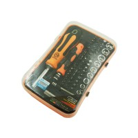 PRS JM-6098 Ratchet Screwdriver Bit & Socket 65 in 1 Set (Orange)