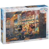 Disney Evening Toy Shop Stained Glass Jigsaw Puzzle 500pcs